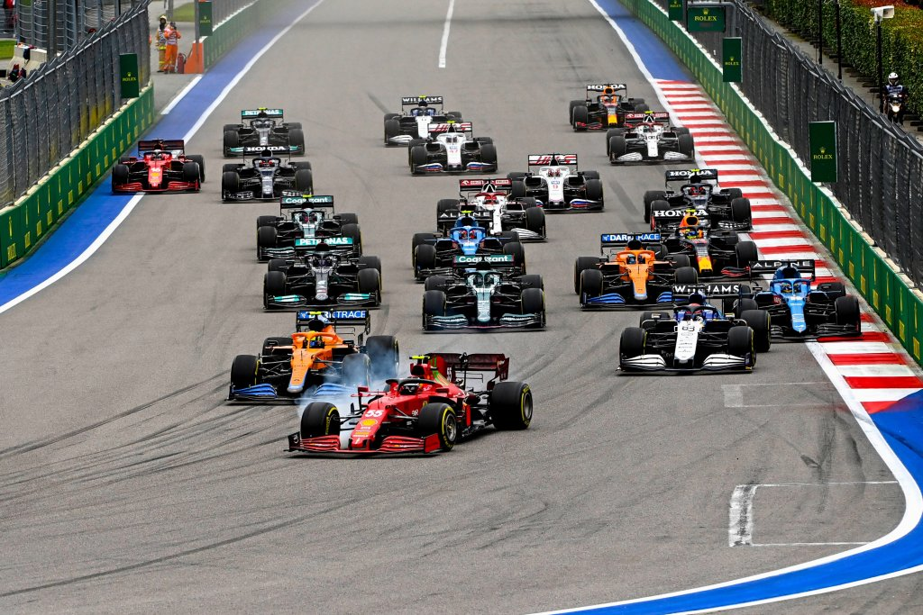 Russian Grand Prix 2021 Highlights