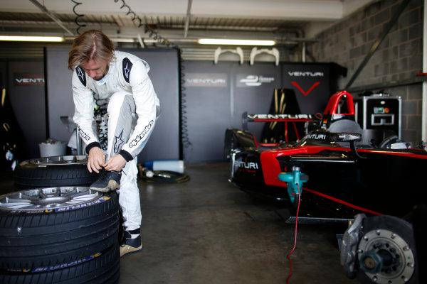 FIA Formula E Test Day, Donington Park, UK.  9th - 10th July 2014.  Nick Heidfeld, Venturi Grand Prix. Photo: Glenn Dunbar/FIA Formula E ref: Digital Image _W2Q9868