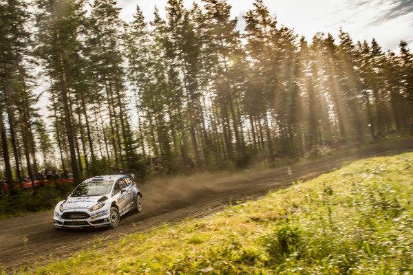Ott Tanak (EST) / Raigo Molder (EST) Ford Fiesta RS WRC at FIA World Rally Championship, R8, Neste Oil Rally Finland, Preparations & Shakedown, Jyvaskyla, Finland, Thursday 30 July 2015.