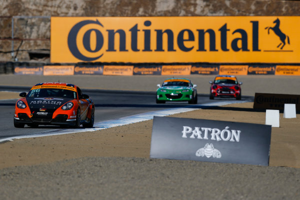 IMSA Continental Tire SportsCar Challenge Mazda Raceway Laguna Seca 240 Mazda Raceway Laguna Seca Monterey, CA USA Friday 22 September 2017 56, Porsche, Porsche Cayman, ST, Justin Piscitell, Eric Foss World Copyright: Jake Galstad LAT Images