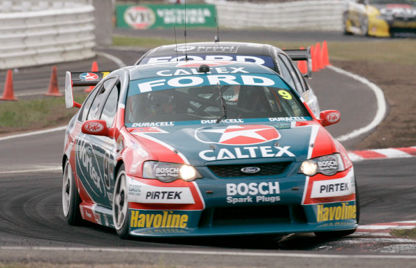 2004 Australian V8 SupercarsSymmons Plain Raceway, Tasmania. November 14th.V8 Supercar driver Russell Ingall took his first round win for the year. World Copyright: Mark Horsburgh/LAT Photographicref: Digital Image Only