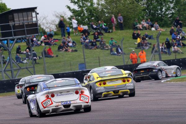 2017 Ginetta GT5 Championship Thruxton, 6th-7th May 2017,  Jonny Hadfield R & J Motorsport Ginetta G40 World copyright. JEP/LAT Images