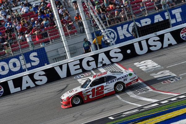 2017 NASCAR Xfinity Series - Boyd Gaming 300 Las Vegas Motor Speedway - Las Vegas, NV USA Saturday 11 March 2017 Joey Logano World Copyright: Nigel Kinrade/LAT Images ref: Digital Image 17LAS1nk05919