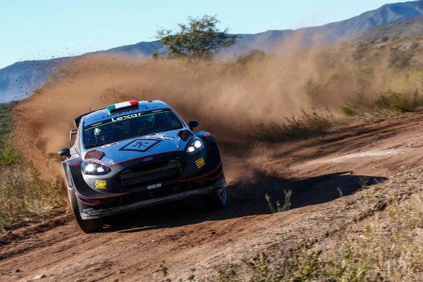 2017 FIA World Rally Championship, Round 05, Rally Argentina, April 27-30, 2017, Lorenzo Bertuelli, Ford, Action, Worldwide Copyright: McKlein/LAT