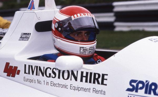 Roland Ratzenberger (AUT) Spirit Motorsport Reynard 88-D Cosworth. 1989 British Formula 3000 Championship.