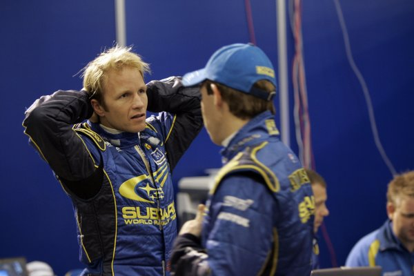 2007 FIA World Rally Champs. Round 11Rally New Zeland, 31st  August - 2nd  September 2007Petter Solberg, Subaru, portraitWorld Copyright: McKlein/LAT
