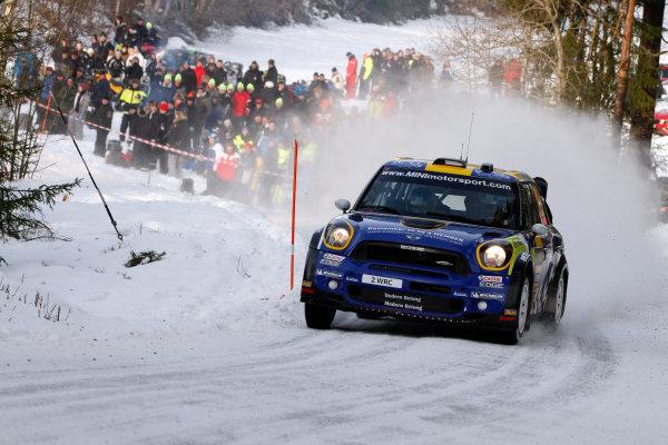 Round 02 - Rally Sweden 09-12 February 2012. Patrik Sandell, Mini WRC Action.  Worldwide Copyright: McKlein/LAT