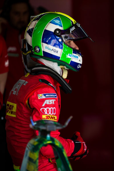 2016/2017 FIA Formula E Championship. Marrakesh ePrix, Circuit International Automobile Moulay El Hassan, Marrakesh, Morocco. Lucas Di Grassi (BRA), ABT Schaeffler Audi Sport, Spark-Abt Sportsline, ABT Schaeffler FE02.  Friday 11 November 2016. Photo: Sam Bloxham/LAT/Formula E ref: Digital Image _SBB6687