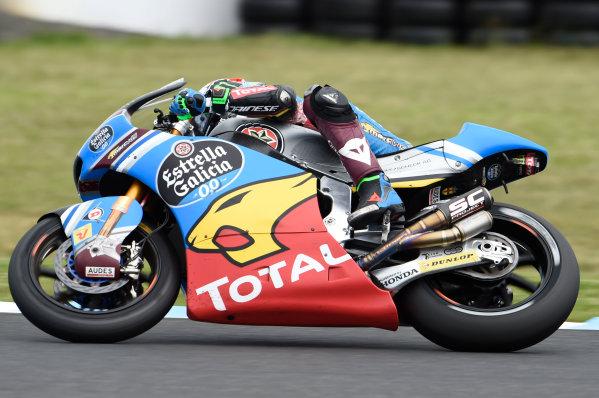 2017 Moto2 Championship - Round 16 Phillip Island, Australia. Sunday 22 October 2017 Franco Morbidelli, Marc VDS World Copyright: Gold and Goose / LAT Images ref: Digital Image 24898