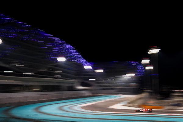 2017 FIA Formula 2 Test 3. Yas Marina Circuit, Abu Dhabi, United Arab Emirates. Saturday 2 December 2017. Sean Gelael (IDN, PREMA Racing).  Photo: Zak Mauger/FIA Formula 2. ref: Digital Image _56I0011
