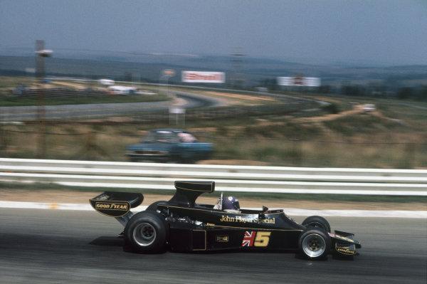 Kyalami, South Africa. 4-6 March 1976. Bob Evans, Lotus 77 Ford. Ref: 76SA22. World Copyright - LAT Photographic