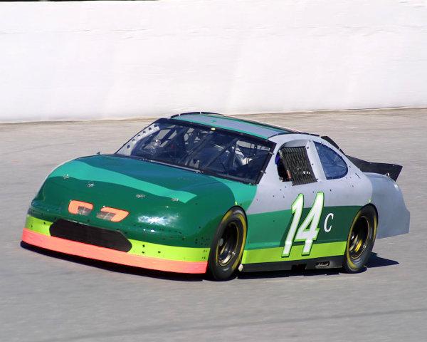 2002 NASCAR Cup TestingDaytona, Florida, USA. 7th January 2002.The No. 14 Car of Stacy Compton, action.World Copyright: Greg Aleck/LAT Photographicref: Digital Image Only