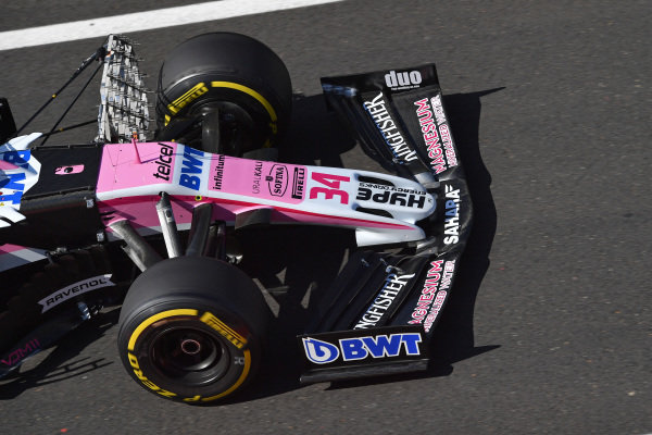 Nicholas Latifi (CDN) Force India VJM11