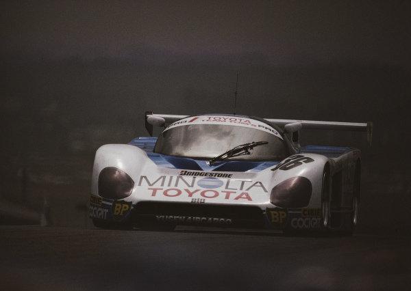Geoff Lees / Masanori Sekiya / Kaoru Hoshino, Toyota Team Tom's, Toyota 88C-L.