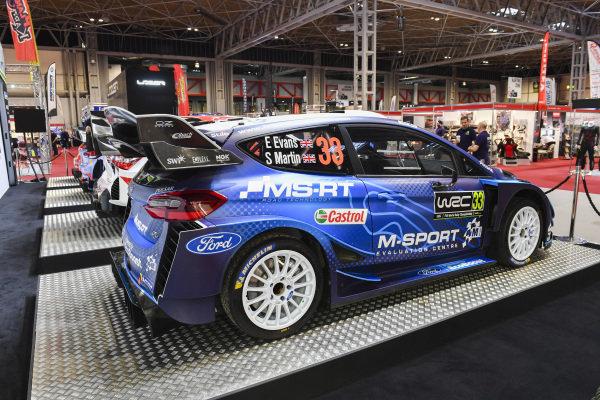 M-Sport Ford WRC car of Elfyn Evans