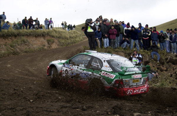 2001 World Rally Championship. ArgentinaMay 3rd-6th, 2001Kenneth Eriksson on stage seven during the first leg.Photo: Ralph Hardwick/LAT