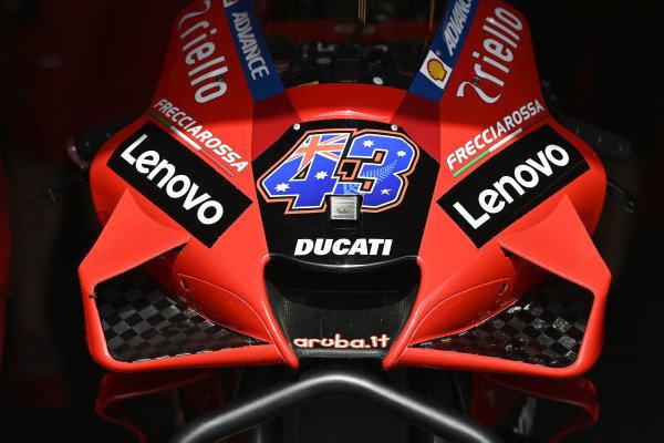 Bike detail, Ducati Team.