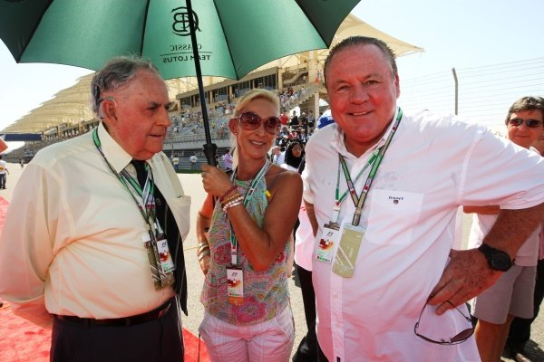 Sir Jack Brabham (AUS) (Left) and Alan Jones (AUS) (Right).