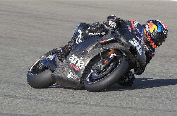 Bradley Smith, Aprilia Racing Team Gresini.