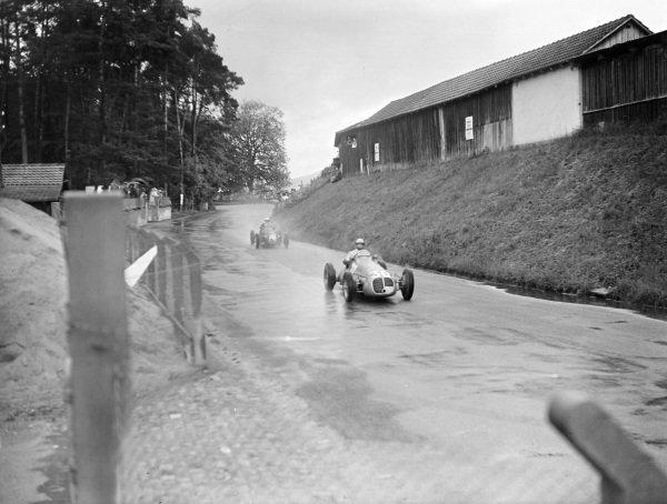 Louis Chiron, Maserati 4CLT-48.