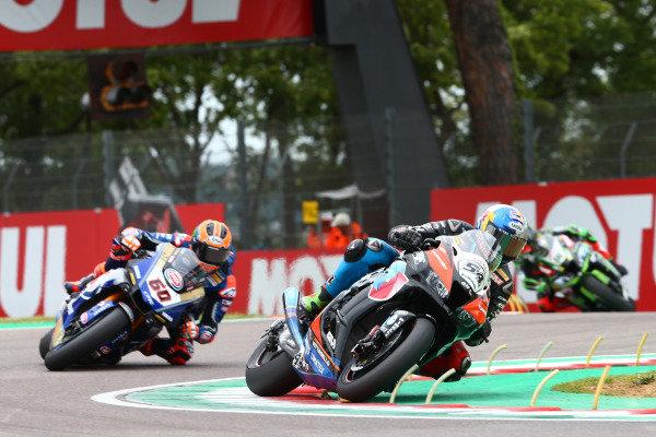 Toprak Razgatlioglu, Turkish Puccetti Racing, Michael van der Mark, Pata Yamaha, Leon Haslam, Kawasaki Racing Team.