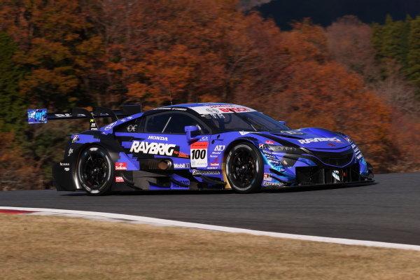 GT500 Winner Naoki Yamamoto & Tadasuke Makino ( #100 RAYBRIG Honda NSX-GT )