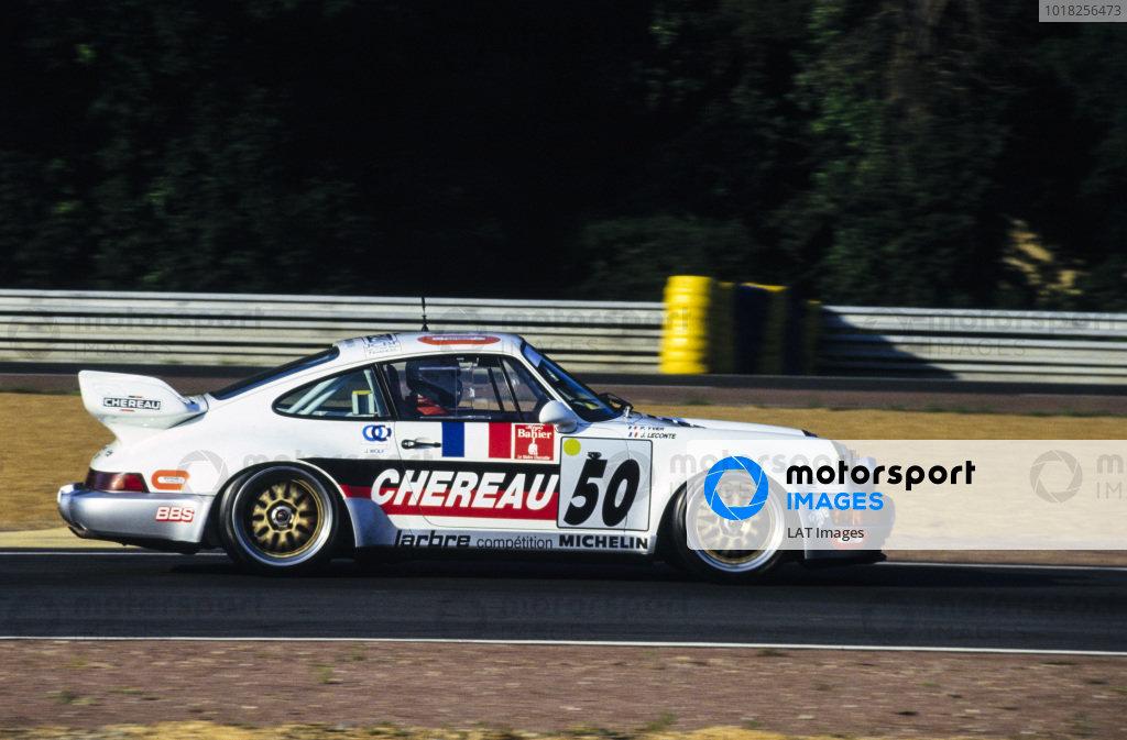 Pierre Yver / Jack Leconte / Jean-Luc Chéreau, Larbre Compétition, Porsche 911 Carrera RSR.