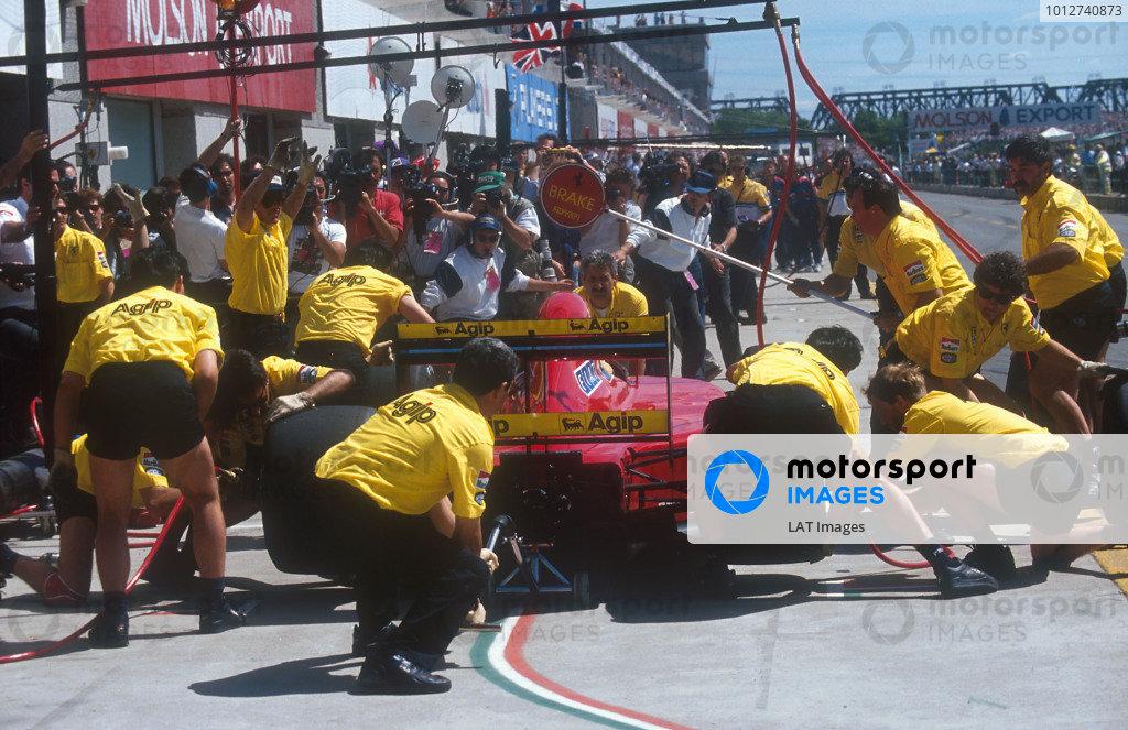 1992 Canadian Grand Prix.