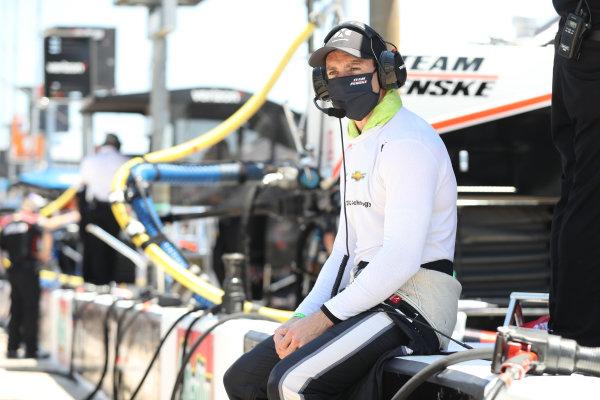 Simon Pagenaud, Team Penske Chevrolet, Copyright: Chris Owens - IMS Photo.