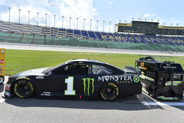 #1: Kurt Busch, Chip Ganassi Racing, Monster Energy Chevrolet Camaro