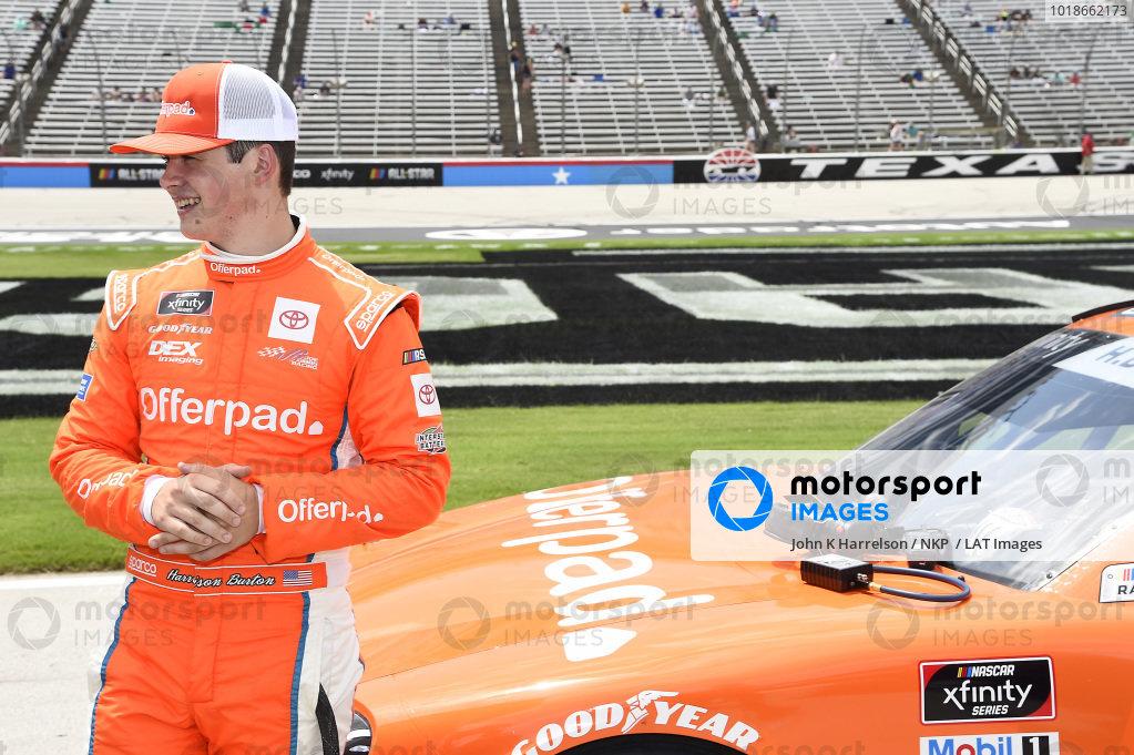 #20: Harrison Burton, Joe Gibbs Racing, Toyota Supra Offerpad