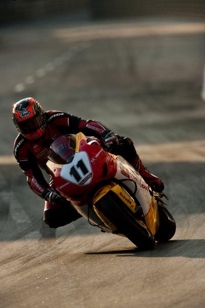 19th - 22nd November 2009. Circuit de Guia, Macau. Stephen Thompson, (Robinson Concrete Honda). Action. World Copyright: Drew Gibson/LAT Photographic.ref: Digital Image VY9E0606