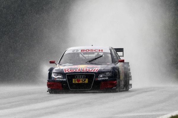 Mattias Ekstrom (SWE), Audi Sport Team Abt Sportsline.DTM, Rd3, Red Bull Ring, Spielberg, Austria. 3-5 June 2011.