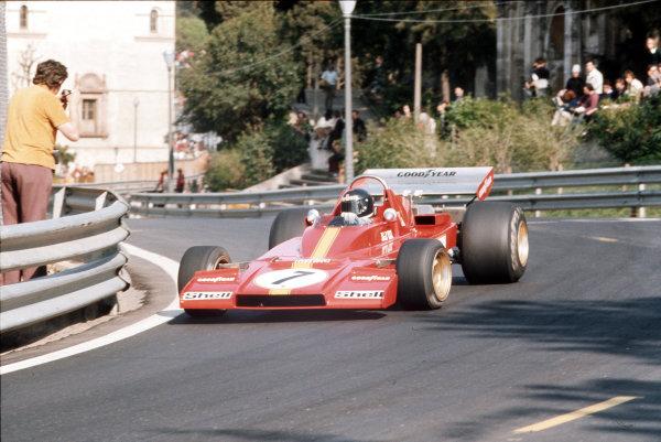 Montjuich Park, Barcelona, Spain.27-29 April 1973.Jacky Ickx (Ferrari 312B3).Ref-35mm 73 ESP 30.World Copyright - LAT Photographic