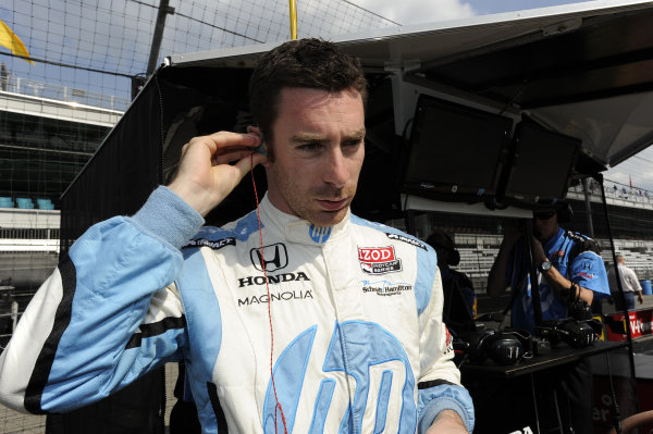 Simon Pagenaud (FRA), Schmidt/Hamilton Motorsports. IndyCar World Series, Rd5, Indianapolis 500, Indianapolis Motor Speedway, Indianapolis, USA, 12-27 May 2012.