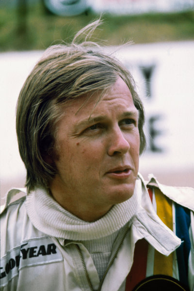Ronnie Peterson (Lotus 72E-Ford), portrait.  World Copyright: LAT Photographic. Ref:  P3A-15