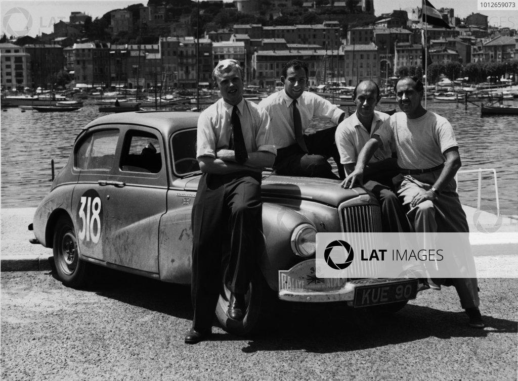 1952 Alpine Rally.