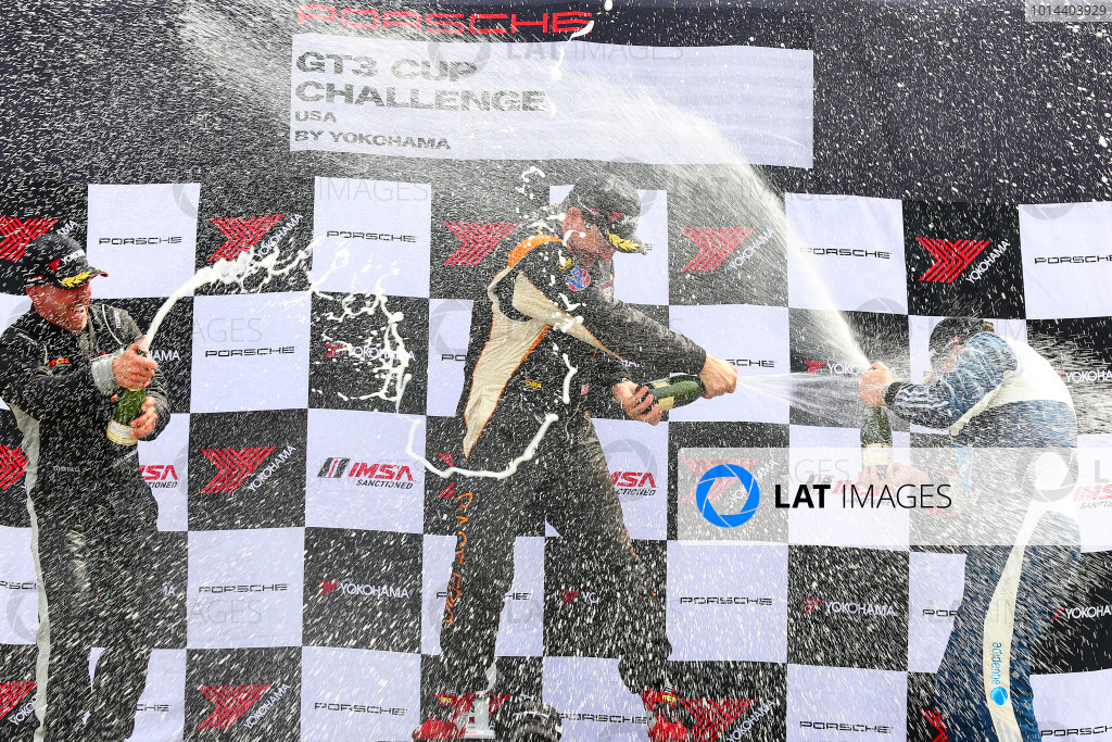 10-12 July 2015, Bowmanville, Ontario Canada Race 2, GT3 Cup USA, Gold Masters Podium ?2015, Jake Galstad LAT Photo USA