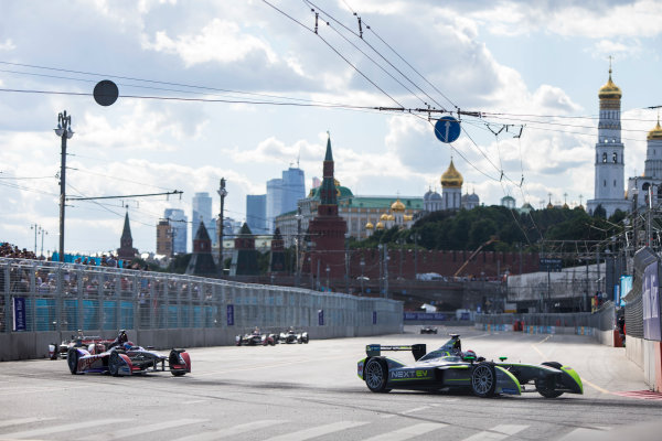 2014/2015 FIA Formula E Championship. Moscow ePrix, Moscow, Russia. Saturday 6 June 2015 Antonio Garcia (SPA)/China Racing - Spark-Renault SRT_01E. Photo: Zak Mauger/LAT/Formula E ref: Digital Image _L0U1259