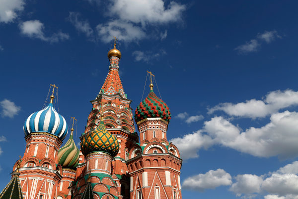 2014/2015 FIA Formula E Championship.  Saint Basil's Cathedral, Red Square Moscow e-Prix, Moscow, Russia. Thursday 4 June 2015.  Photo: Sam Bloxham/LAT/Formula E ref: Digital Image _SBL4091