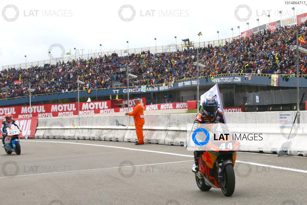 2017 Moto2 Championship - Round 8 Assen, Netherlands Sunday 25 June 2017 Miguel Oliveira, Red Bull KTM Ajo World Copyright: David Goldman/LAT Images ref: Digital Image 680202