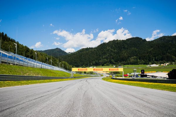 2017 GP3 Series Round 2.  Red Bull Ring, Spielberg, Austria. Thursday 6 July 2017. A view of the track. Photo: Zak Mauger/GP3 Series Media Service. ref: Digital Image _56I9982