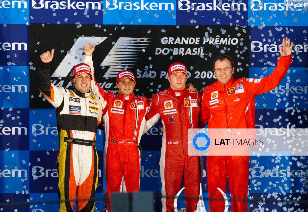 2008 Brazilian Grand Prix - Sunday Race