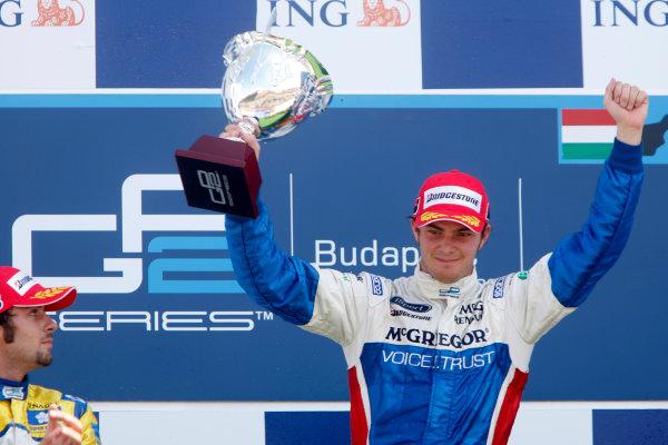 Hungaroring, Budapest, Hungary. 26th July 2009.Sunday Race.Giedo  Van der Garde (NED, iSport International). Portrait.  World Copyright: Alastair Staley / GP2 Series Media Service.Ref: _O9T3081 jpg