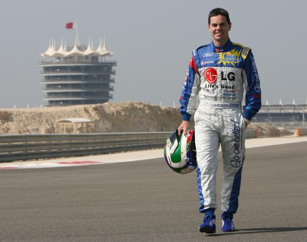 V8 Supercars Championship Round 12. V8 Supercars driver Craig Lowndes in Bahrain for the V8 Supercars Desert 400 this week. November 23-25, 2006. Mark Horsburgh