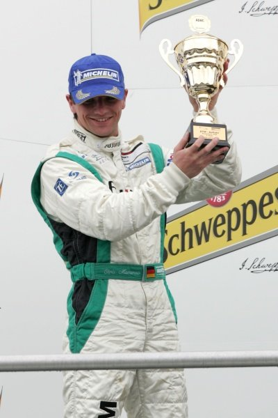 Chris Mamerow (GER) Mamerow Racing on the podium