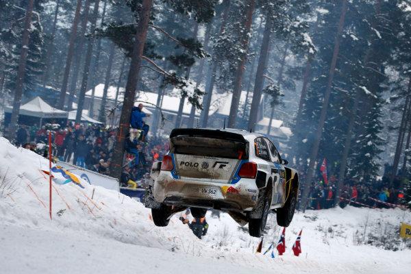 2013 World Rally Championship Swedish Rally 7th - 10th February 2013 Jari Matti Latvala, VW, action Worldwide Copyright: McKlein/LAT