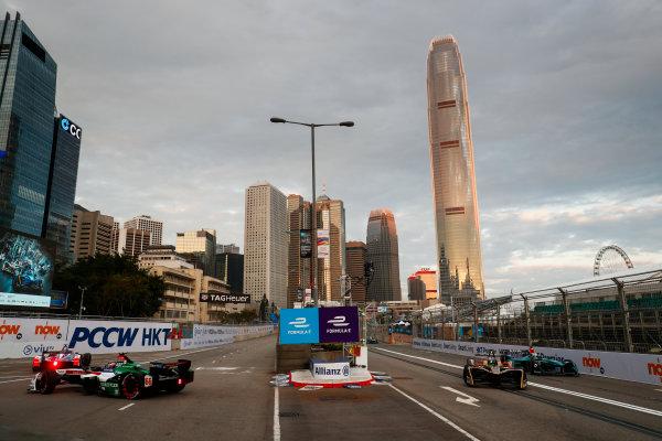 2017/2018 FIA Formula E Championship. Round 1 - Hong Kong, China. Saturday 02 December 2017. Daniel Abt (GER), Audi Sport ABT Schaeffler, Audi e-tron FE04. Photo: Sam Bloxham/LAT/Formula E ref: Digital Image _J6I3746