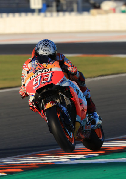 2017 MotoGP Championship - Valencia test, Spain. Tuesday 14 November 2017 Marc Marquez, Repsol Honda Team World Copyright: Gold and Goose / LAT Images ref: Digital Image MotoGP2017-ValenciaTest-Day1-1341