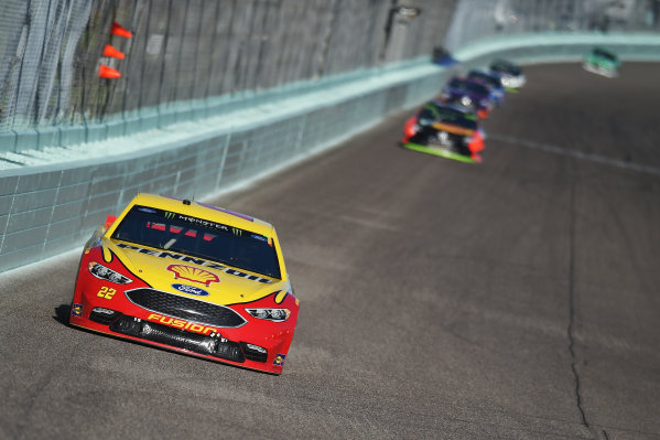Monster Energy NASCAR Cup Series Homestead-Miami Speedway, Homestead, Florida USA Sunday 19 November 2017 Joey Logano, Team Penske, Ford Fusion World Copyright: Rainier Ehrhardt / LAT Images ref: Digital Image DSC_1727